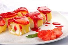 Rodillo dulce del japonés Fotos de archivo