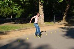 Rodillo en Hyde Park, Londres. imagen de archivo