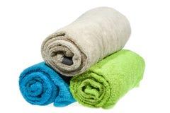 Rodillos de las toallas fotografía de archivo libre de regalías