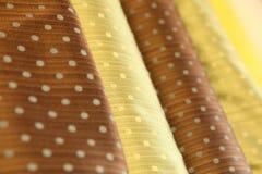 Rodillos de lujo de la seda Fotos de archivo libres de regalías