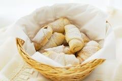 Rodillos de pan dulces Foto de archivo