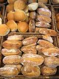 Rodillos de pan fresco Fotografía de archivo libre de regalías