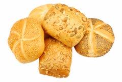 Rodillos de pan fresco imágenes de archivo libres de regalías