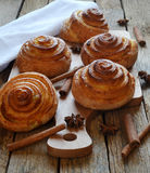 Rodillos de pan fresco Imagen de archivo