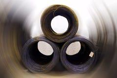 Rodillos del metal Imagen de archivo