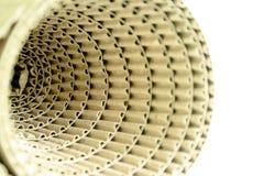 Rodillos del papel acanalado. Imágenes de archivo libres de regalías