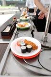 Rodillos del sushi fotografía de archivo