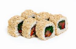 Rodillos del sushi Fotografía de archivo libre de regalías