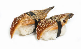Rodillos del sushi Imagenes de archivo