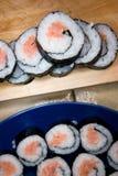 Rodillos del sushi Imagen de archivo