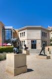 Rodin Brązowe rzeźby przy uniwersytetem stanforda Fotografia Royalty Free
