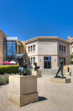 Rodin Bronze Sculptures at Stanford University. STANFORD, UNITED STATES - July 6:  The Rodin collection of bronze sculptures on the grounds of Cantor Arts Center Royalty Free Stock Photography