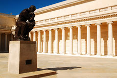 Rodin chez San Francisco Legion d'honneur images stock