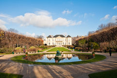 Rodin Museum royalty free stock photography