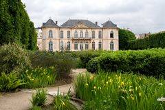 Rodin Museum Paris Royalty Free Stock Photos