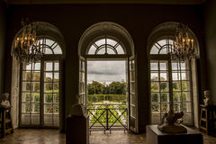 Rodin Museum. In Paris, interior and view at the garden royalty free stock image
