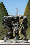 Rodin Museum in Paris Royalty Free Stock Photo