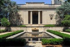 Rodin Museum - Philadelphia, Pennsylvania arkivbilder