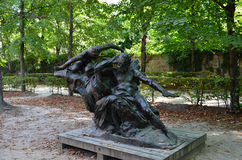 Rodin muzeum w Paryż zdjęcie stock