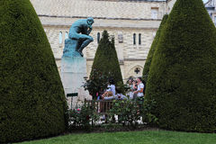 Rodin muzeum w Paryż zdjęcie royalty free