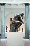 Rodin's Thinking Man Royalty Free Stock Images