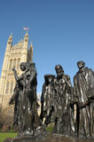 Rodin sculpture, Burghers of Calais Stock Image
