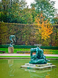 Rodin Sculptures. Sculptures created by Rodin at the Rodin museum, Paris stock photo