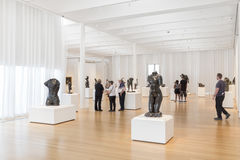 Rodin Sculptures av kantor Art Collection i North Carolina Royaltyfri Foto