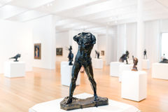 Rodin Sculptures of the Cantor Art Collection in North Carolina Royalty Free Stock Image