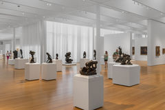 Rodin Sculptures del maestro del coro Art Collection in Nord Carolina Immagine Stock Libera da Diritti