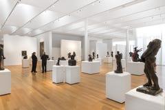 Rodin Sculptures du chantre Art Collection en Caroline du Nord Photos stock