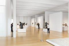 Rodin Sculptures du chantre Art Collection en Caroline du Nord Photographie stock