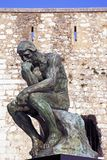 Rodin thinker Stock Photography