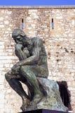 Rodin thinker Stock Photography