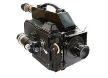 Rodina movie camera Royalty Free Stock Images