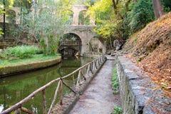 rodini της Ρόδου πάρκων της Ελλάδας πόλεων στοκ εικόνα με δικαίωμα ελεύθερης χρήσης