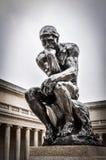 Rodins el pensador Fotos de archivo