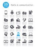Środki i komunikacja Obrazy Stock