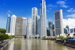 Środkowa dzielnica biznesu w Singapur Obrazy Royalty Free
