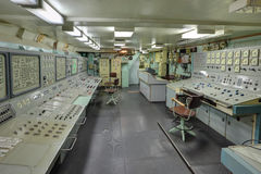 Środkowa kontrola Fotografia Stock