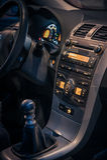 Środkowa Samochodowa konsola Zdjęcia Stock