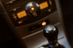 Środkowa Samochodowa konsola Obraz Royalty Free