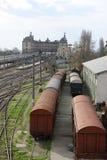 środkowa stacja kolejowa obraz royalty free