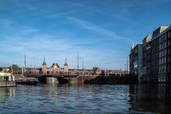 Środkowa stacja kolejowa Amsterdam Zdjęcie Stock