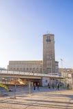 Środkowa stacja kolejowa w Stuttgart, Niemcy (Hauptbahnhof) Obrazy Stock