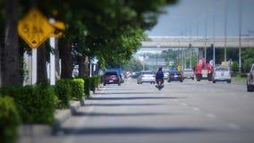 środkowe drogi wiejski Thailand Fotografia Royalty Free