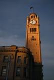 środkowego zegaru stary staci wierza Zdjęcia Royalty Free