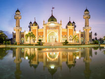 Środkowy meczetowy Pattani Tajlandia Obrazy Stock