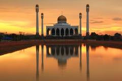 środkowy meczetowy zmierzch Zdjęcia Stock