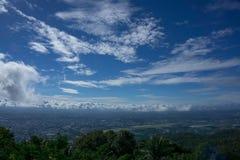 Środkowy niebo Zdjęcie Royalty Free
